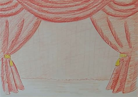 drawing drapery draw a curtain youtube