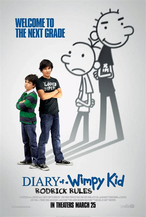 Wimpy Kid 2 Teaser Trailer Kid Diary Wimpy