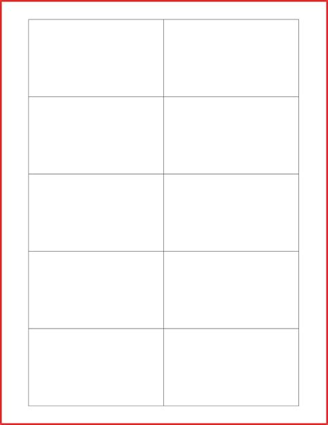 Note Card Template by Avery Note Card Templates No2powerblasts