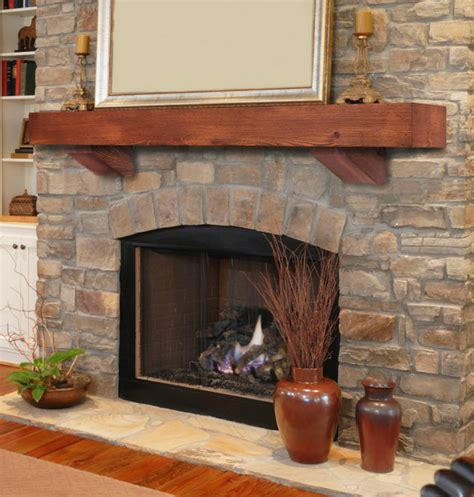 Fireplace Mantels With Corbels 48 quot 60 quot 72 quot heritage autumn finish pine mantel shelf w corbels