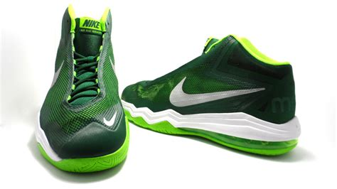nike basketball shoes size 14 nike s air max audacity tb basketball shoes green
