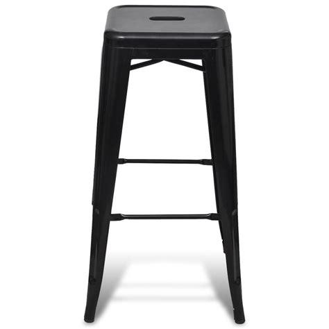 bar high stools bar chair high chair bar stool square 2 pcs black vidaxl com