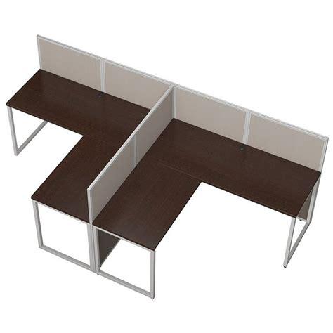 Bush Business Furniture Easy Office L Shaped Desk For 2 L Shaped Desk For Two