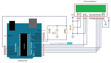 capacitor measurement circuit arduino capacitance meter