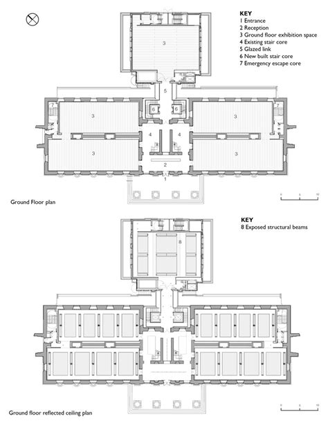 reflected floor plan media for saatchi gallery openbuildings