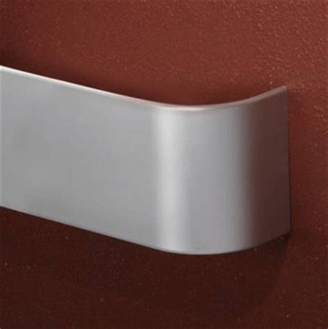 wall guard chair rail 4 quot aluminum chair rail wall guard eagle mat