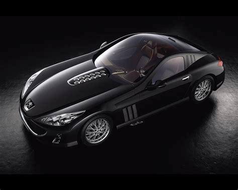 peugeot 907 coupe v12 concept car 2004