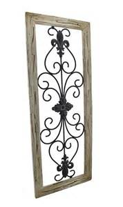 Wrought Iron Wall Decor Scroll Fleur De Lis by Elk Rod Iron Wall Decor Frame Wrought Iron Fleur