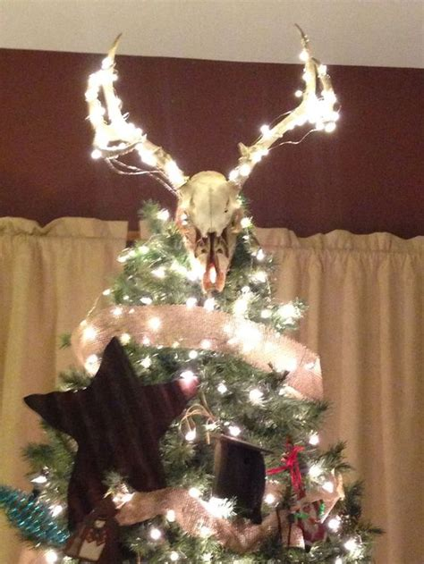 deer antler tree topper deer antler tree topper search tree toppers trees