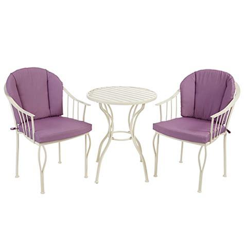 Asda Bistro Table Heritage 3 Classic Bistro Set Garden Furniture Asda Direct