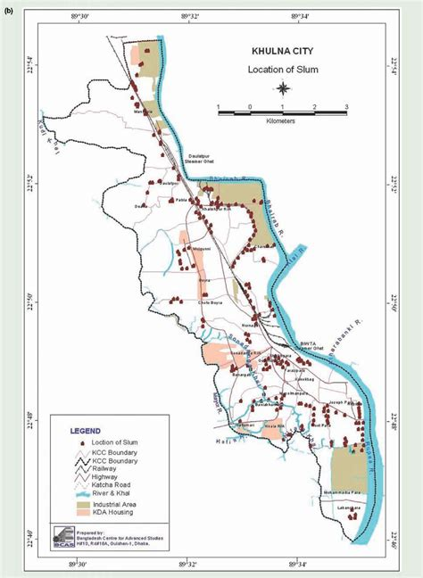 map of khulna city climate risks vulnerabilities and impacts climate