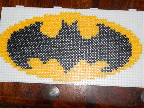 hama batman batman logo hama by christine fuze bead