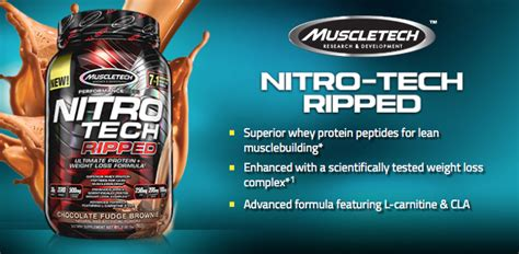Muscletech Nitrotech Nitro Tech 4 Lbs New Formula muscletech nitro tech ripped 4 lbs new proteinlab