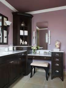 Plum Colored Bathroom Accessories - painted ceilings