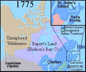 canadian map before confederation canada map before confederation
