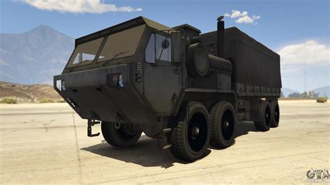 tactical truck heavy expanded mobility tactical truck for gta 5