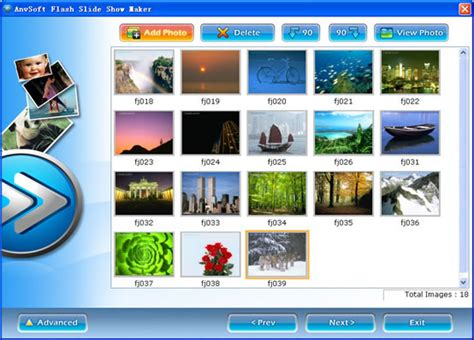 photo slideshow creator make hd photo slideshow with tutorials flash slide show maker is a flash album