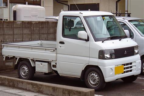 mitsubishi minicab truck mitsubishi minicab