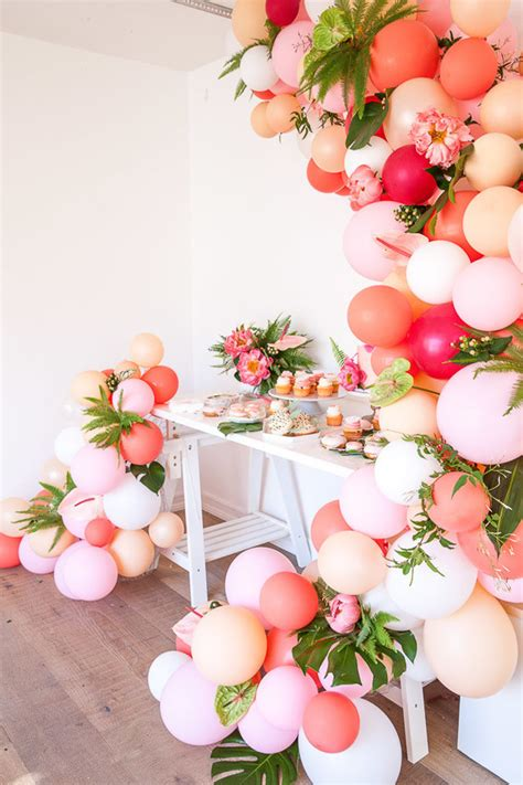 Tropical flamingo girl's birthday party by The Shift Creative   Wedding & Party Ideas   100