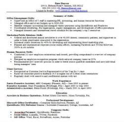 Skill Set Resume Examples Is A Skills Based Resume Right For You We It Is And