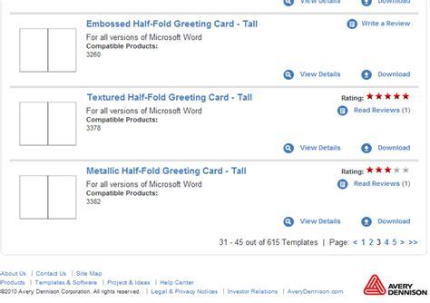 Powerpoint Half Fold Card Template by Half Fold Greeting Card Template Templates Station