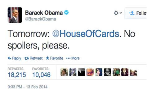 obama house of cards come 231 a hoje a 2a temporada de house of cards obama fez 1 pedido especial pelo