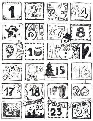 printable religious advent calendar 2014 make advent calendar craft