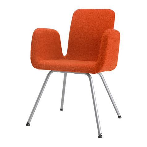 ikea orange armchair patrik conference chair ullevi orange ikea