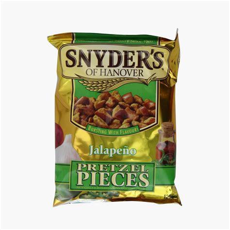 Snyder S Snyders Jalapeno 125gr snyder s pretzel pieces jalapeno