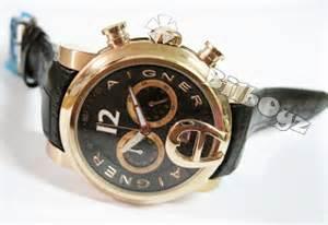 Aigner Bari Gold White 16019 watches aigner bari leather watches