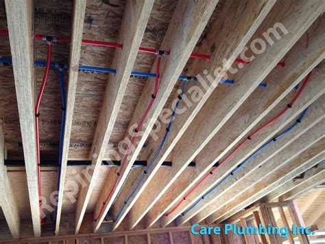Pex Plumbing Systems by Copper Repiping Archives Repiping Specialists Copper