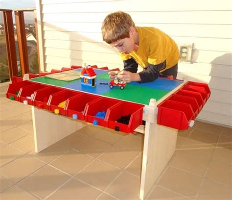 Toddler Lego Table by