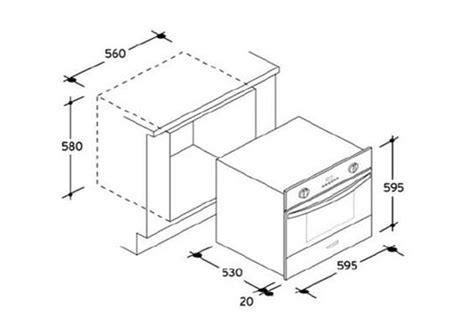 dimension d une four encastrable fpp649x inox fpp649x 3749819 darty