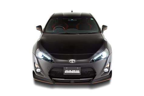 products of toyota company 86 black edition toyota エアロパーツ ドレスアップのダムド damd inc