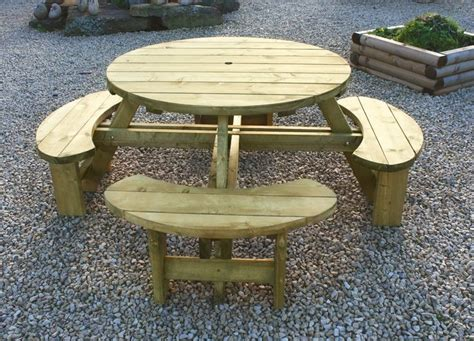 round picnic bench plans best 25 round picnic table ideas on pinterest picnic