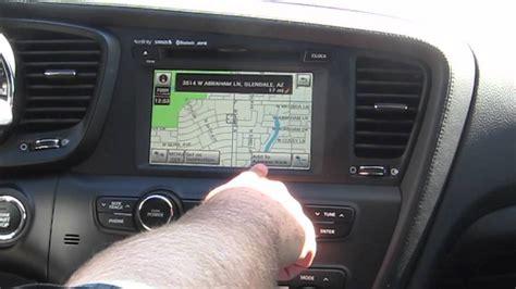 Kia Navigation 2011 Kia Optima Navigation System