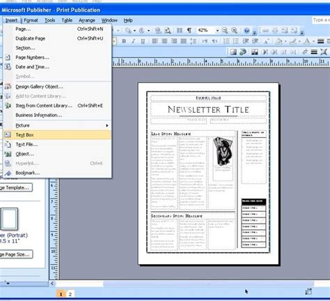 best solutions of microsoft office 2010 newspaper template about