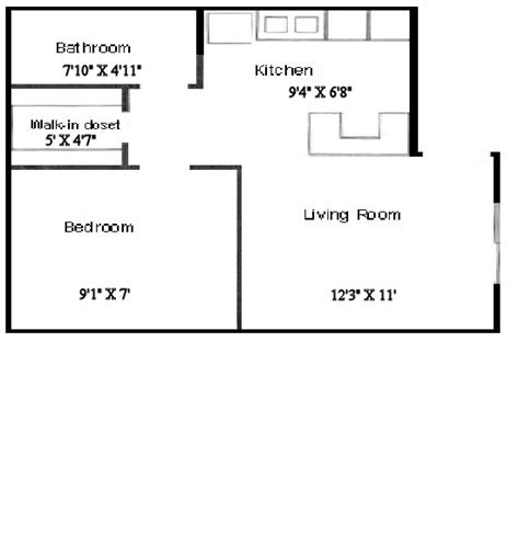 Studio Apartment Size by Standard Studio Apartment Size Buybrinkhomes Com