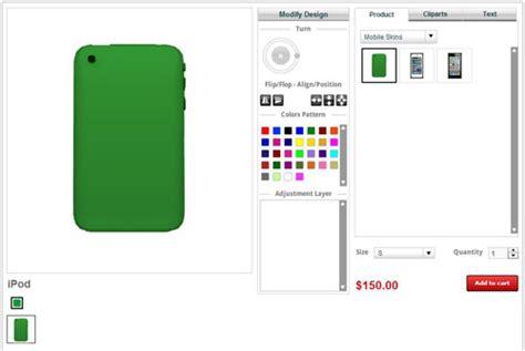 skin design tool custom ipod skin cover design tool software