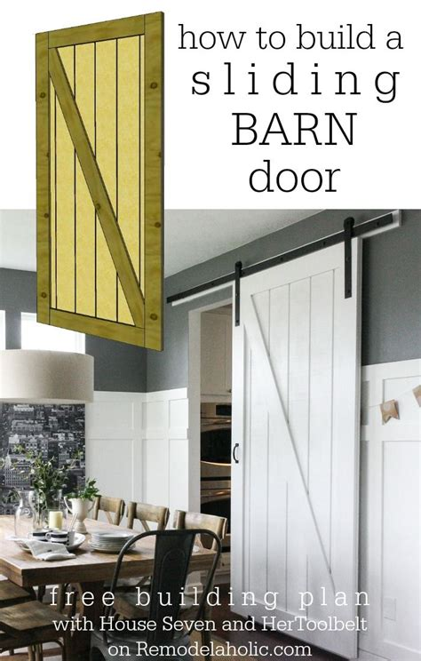 1000 Images About Barn Door On Pinterest Sliding How To Make A Sliding Barn Door