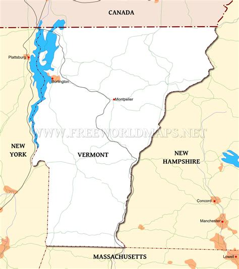 us map states vermont vermont united states map images