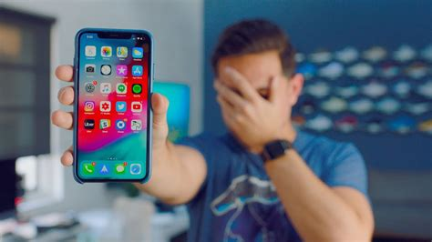 responding   iphone xs max problems youtube