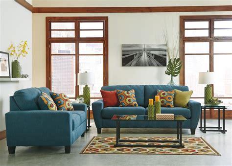 teal couch living room sagen teal sofa loveseat 93902 38 35 living room