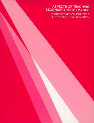 Aspects Of Teaching Secondary Mathematics Perspectives On