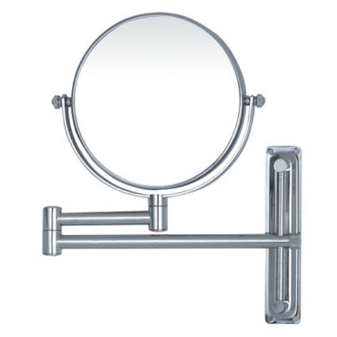 magnifying bathroom swivel arm mirror temple webster