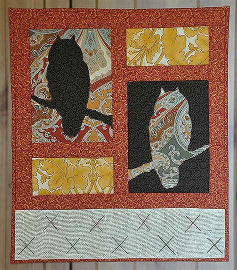 Quilted Wall by Quilted Owl Wall Hanging Free Pattern Quilting
