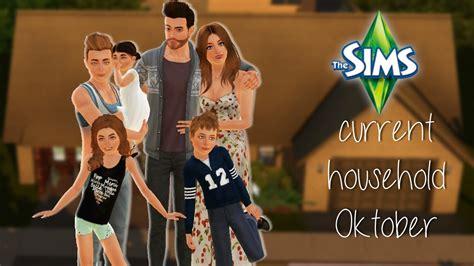 Sims 3 Haushalt 5838 by Mein Aktueller Haushalt Oktober Edition Die Sims 3