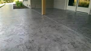 How To Get Stains Out Of Concrete Floors by Decorative Concrete Tuscan Slate Acid Stain Antique