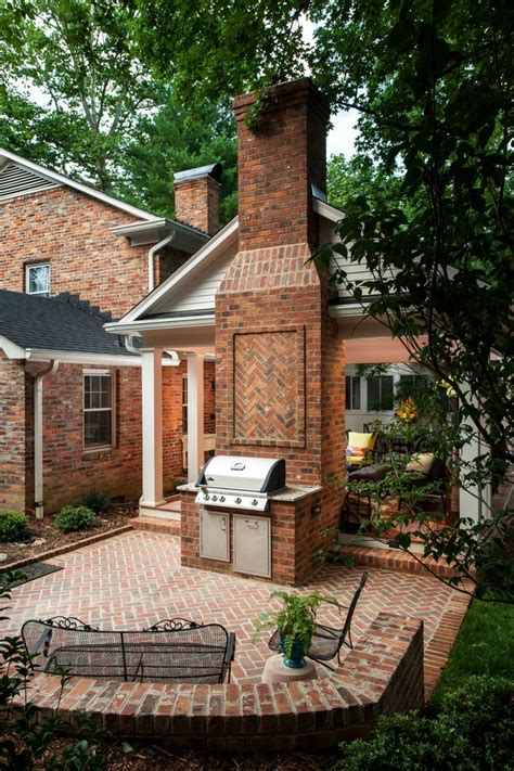 outdoor fireplace grill outdoor fireplace grill patio contemporary with brick