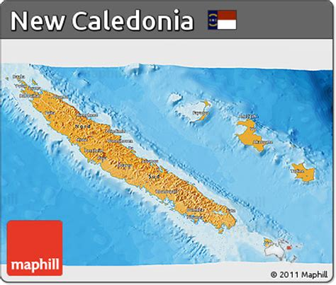 new caledonia world map free political shades 3d map of new caledonia